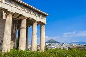Tempio di efesto, atene, grecia — Foto Stock
