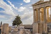 Parthenon in griechenland — Stockfoto
