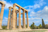 Ancient Temple of Olympian Zeus , Athens, Greece — Stok fotoğraf