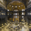 Hagia Sophia interior Istanbul Turkey — Stock Photo #13653837