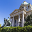Serbian National Assembly, Belgrade - Stock Photo