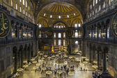 Hagia Sophia interior Istanbul Turkey — Stock Photo