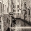Venice canals and gondolas, Italy — Stock Photo #13673776