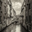 Venice canals and gondolas, Italy — Stock Photo #13674439