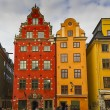Gamla Stan,The Old Town in Stockholm, Sweden — Stock Photo #13675220