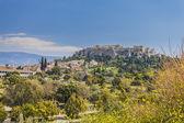 Akropol w grecji — Zdjęcie stockowe