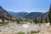 Ancient Theater at Delphi, Greece — Stock Photo
