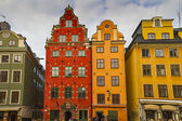 Gamla Stan,The Old Town in Stockholm, Sweden — Stock Photo