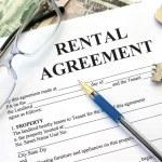 Rental agreement, close-up — Stock Photo #19816999