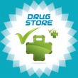 Royalty-Free Stock Vector Image: Drugstore Family Accept Icons, Logo With Green Color