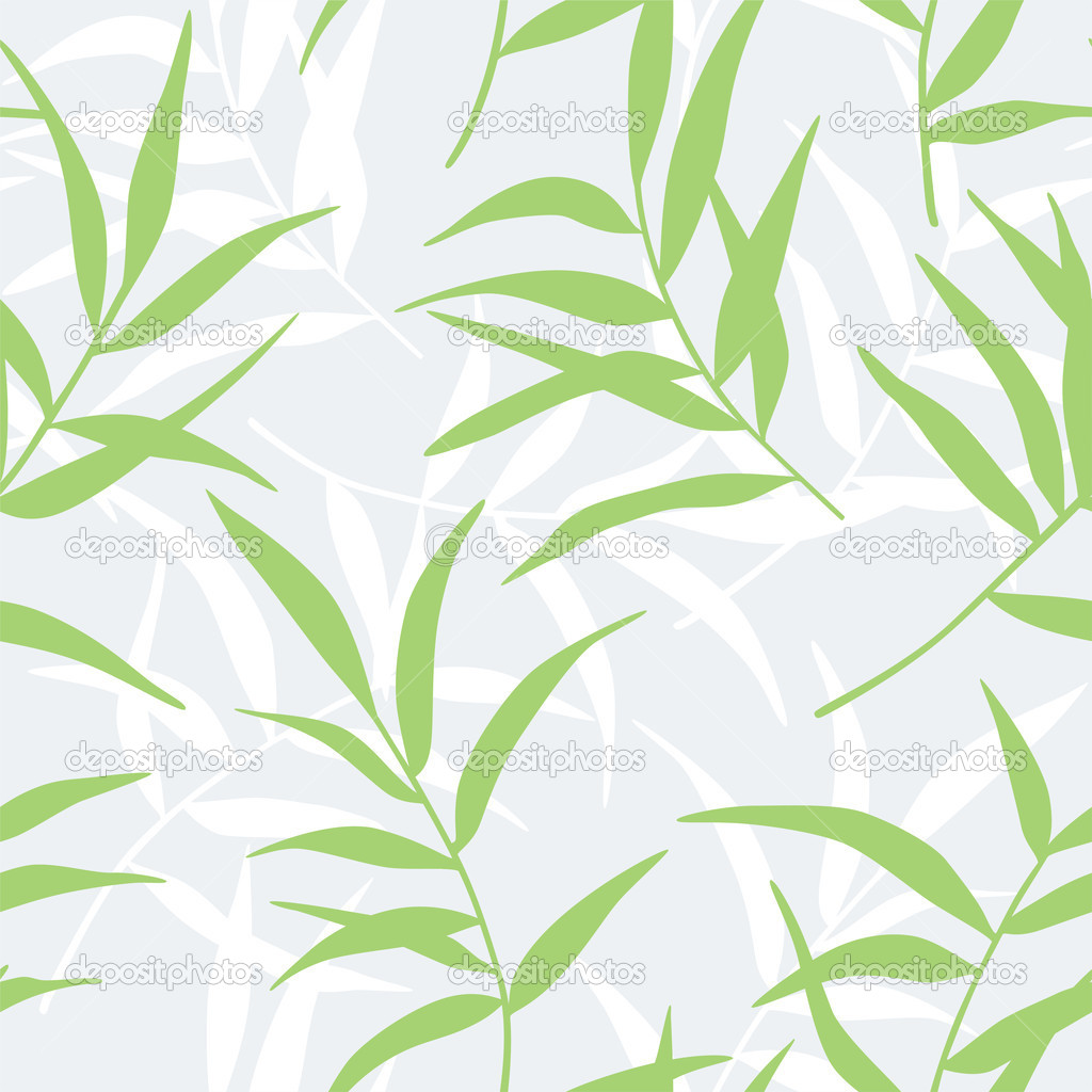 Bamboo Leaves Vector Bamboo leaves seamless