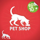 Pet Shop Illustration — Stock Vector