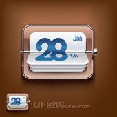 Calendar Symbol Illustration — Stock Vector