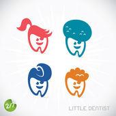 Dentist Symbols — Stock Vector
