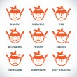 Vector Smile Icons — Stock Vector #51339547