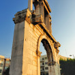 Arch of Hadrian — Stock Photo