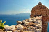Nafplio , the palamidi castle — Stock Photo