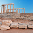 Cape Sounion - Foto Stock