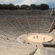 Epidaurus theater - Stock Photo