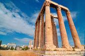 Tempio di zeus olimpio — Foto Stock