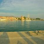 Port and yacht marine on Aegina Island — Stock Photo