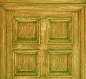Uma porta de madeira velha — Fotografia Stock