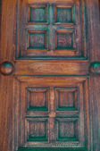 An old wooden door — Stock Photo