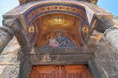 Ingresso della Chiesa di panaghia kapnikarea — Foto Stock