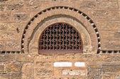 Window of the Church of Panaghia Kapnikarea — Stock Photo