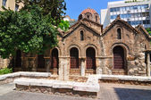 The Byzantine Church of Panaghia Kapnikarea — Stock Photo