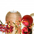 Group of christmas decoration — Stock Photo