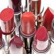Group of lipsticks — Stock Photo