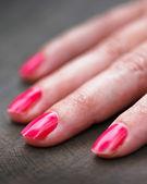 Woman fingers — Stock Photo