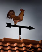 Rooster weathervane — Stock Photo