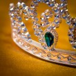 Stock Photo: Jeweled crown