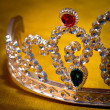 Jeweled crown — Stockfoto
