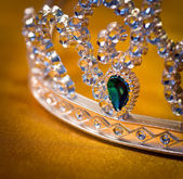 Jeweled crown — Stock Photo