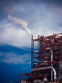 Pollution factory — Stockfoto