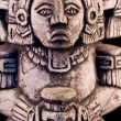 Stock Photo: Mayan sculpture