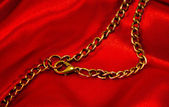 Golden chain — Stockfoto