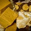 Stock Photo: Chunks of nougat