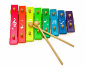 Toy xylophone — Stock Photo