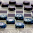 Checkers pieces — Stock Photo
