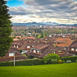 residential neighborhood — Stock Photo