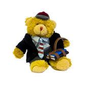 Student teddy bear — Stock Photo
