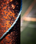Rusty metal bar — Stock Photo