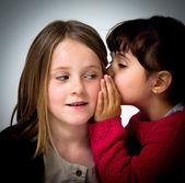 Pequeño retrato de las niñas — Foto de Stock