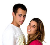 Teen couple — Stock Photo