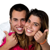 Teen couple — Stockfoto