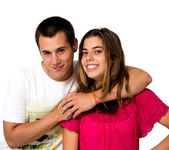Teen couple — Foto Stock